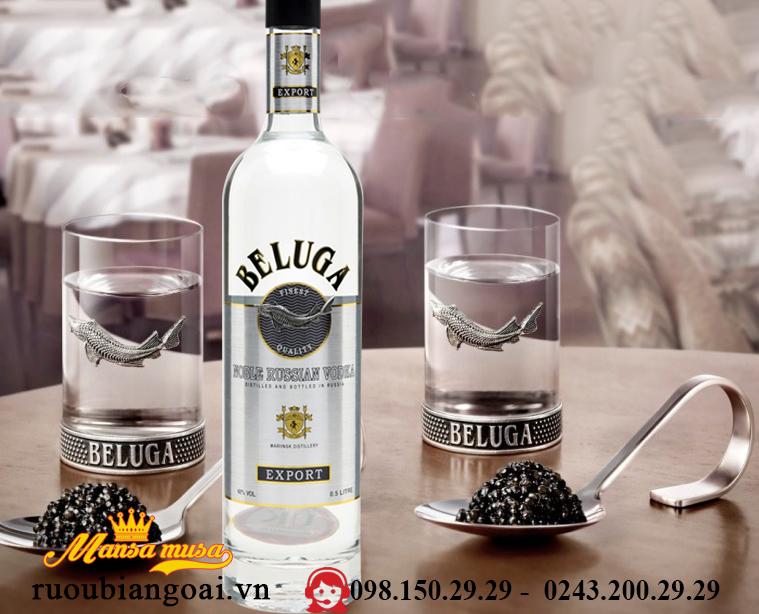 Ruou Vodka Beluga 500 ml