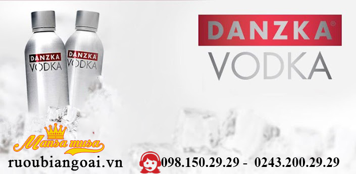 Ruou Vodka DanZka 750 ml