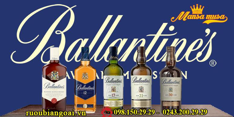 Rượu Ballatines, mua rượu Ballatines ở đâu tốt