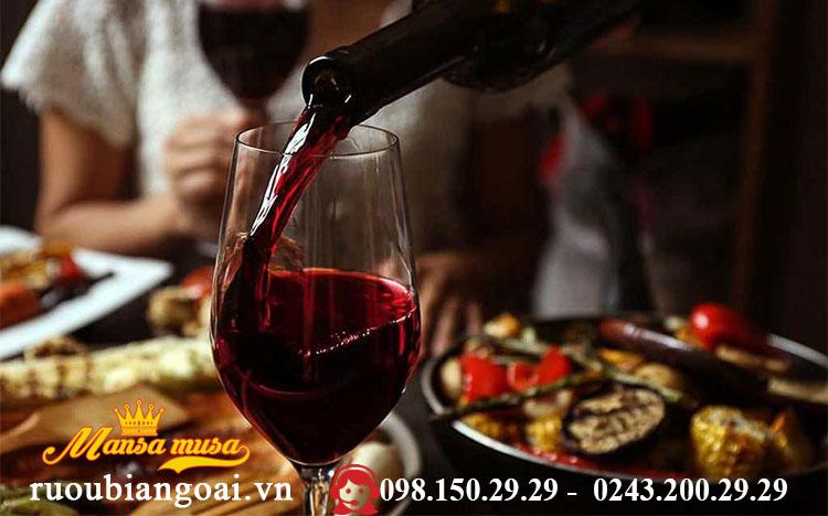 uống rượu vang tốt cho sức khỏe