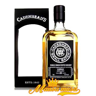 Rượu Cadenhead Girvan 28