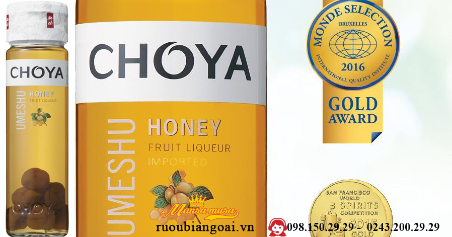 Ruou Mo CHOYA Honey