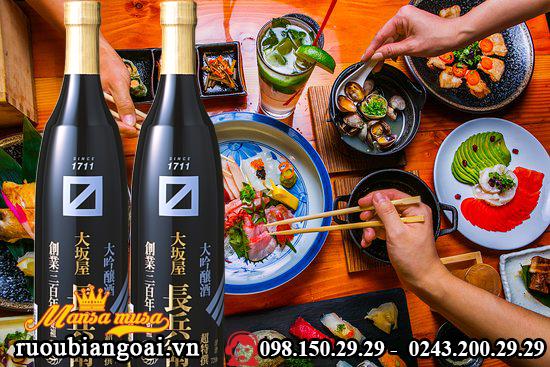 Ruou Osakaya Chobei Daiginjo 1800 ml