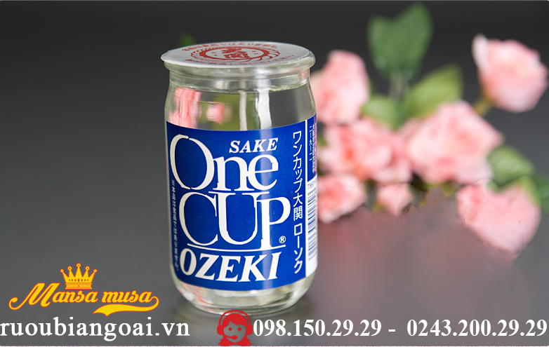 Ruou Ozeki one cup 180 ml