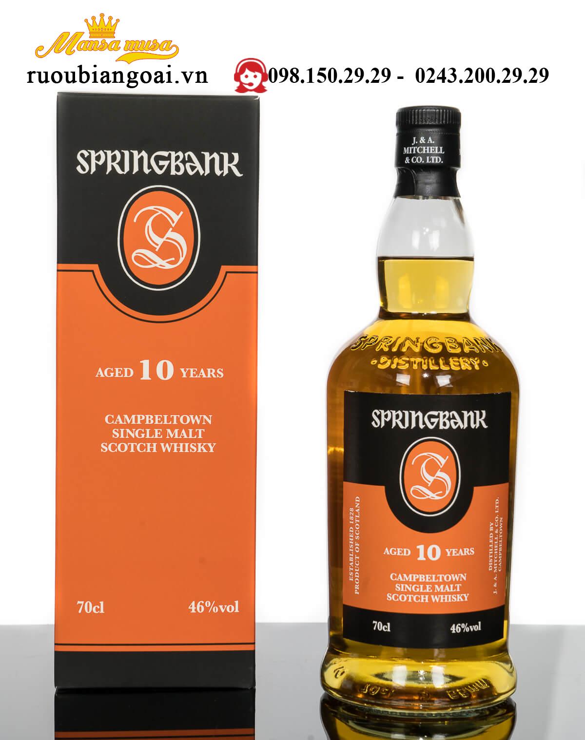 Ruou Springbank 10