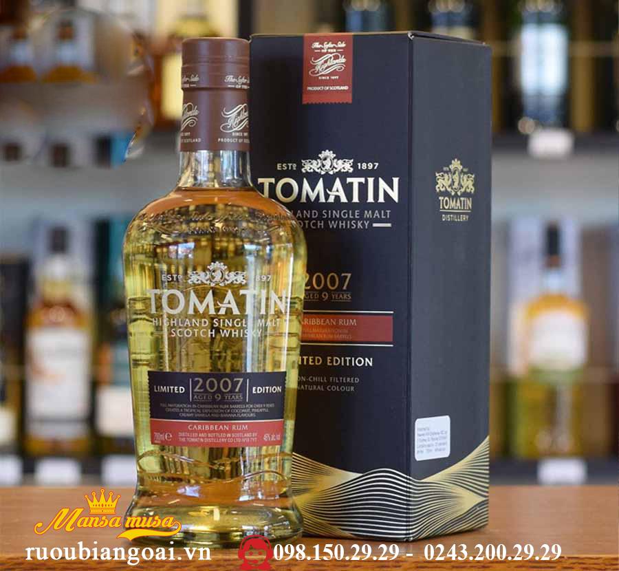 Ruou Tomatin Caribbear Rum