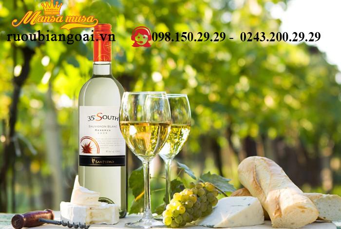 Ruou Vang 35 South Reserva Sauvignon Blanc