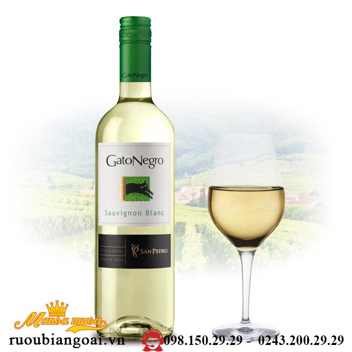 Ruou Vang Gato Negro Sauvignon Blanc