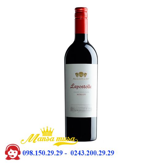 Rượu Vang Lapostolle Merlot