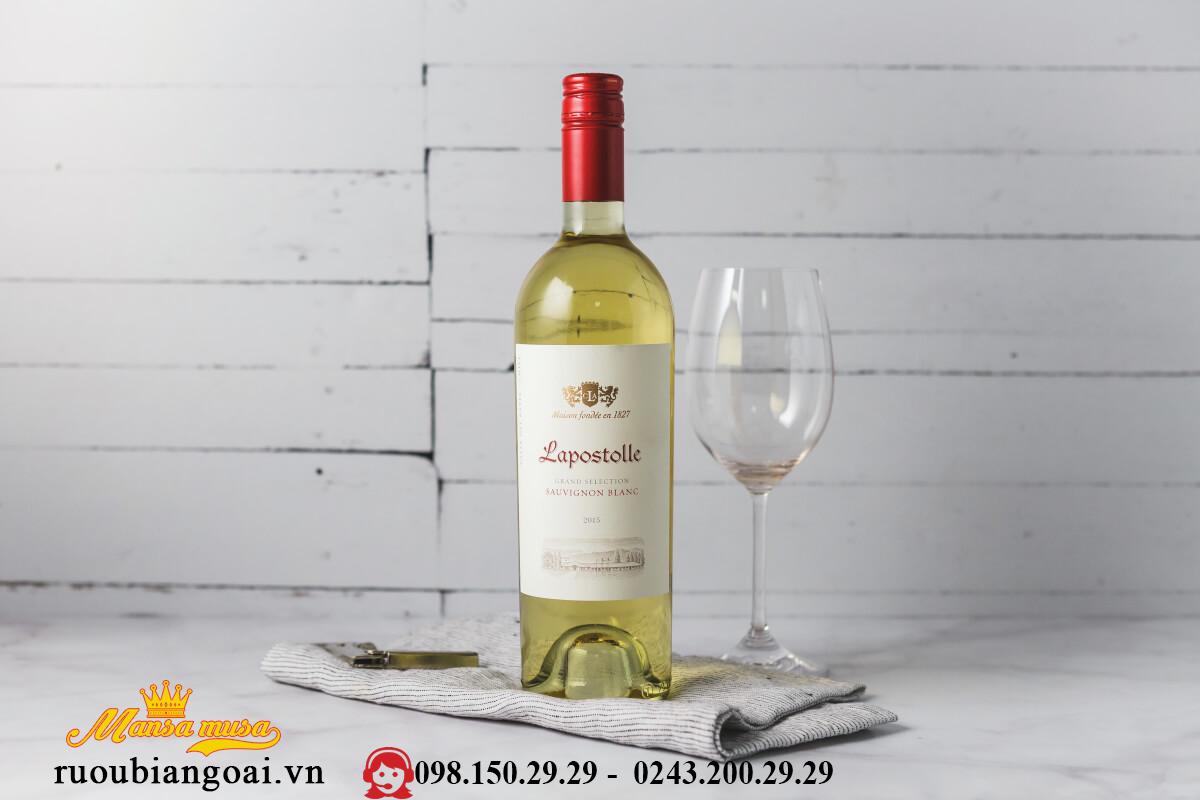 Ruou Vang Lapostolle Sauvigon Blanc 2014