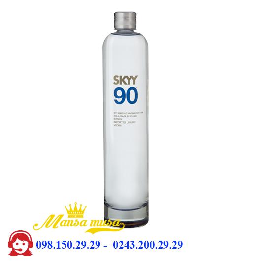 Rượu Vodka SKYY 90