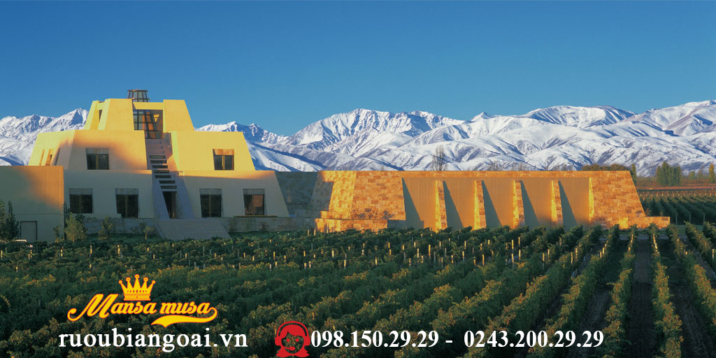 Vang Argentina Alamos Chardonnay