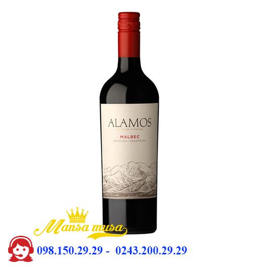 Vang Argentina Alamos Malbec