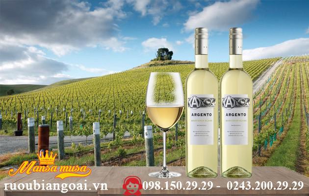 Vang Argento Sauvignon Blanc