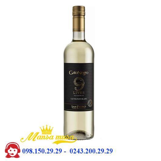 Vang Gato Negro 9 Lives Sauvignon Blanc