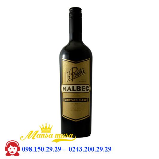 Vang La Posta, Vineyard Blend Malbec