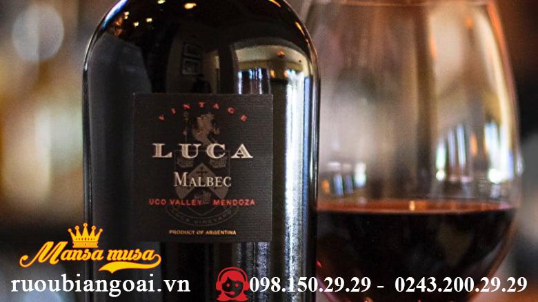 Vang Luca,Malbec