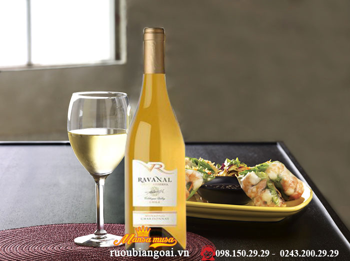 Vang Chile Ravanal Gran Reserva Chardonnay