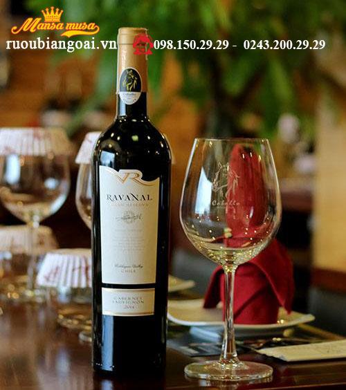 Vang Chile Ravanal Gran ReservaCabernet Sauvignon