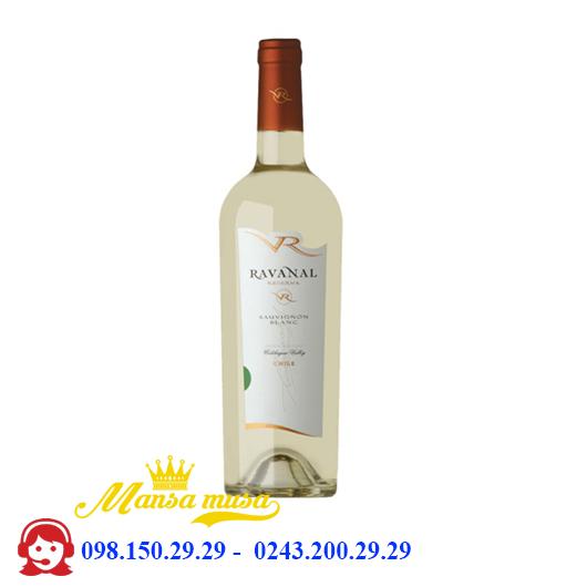 Vang Chile Ravanal Reserva Sauvignon Blanc