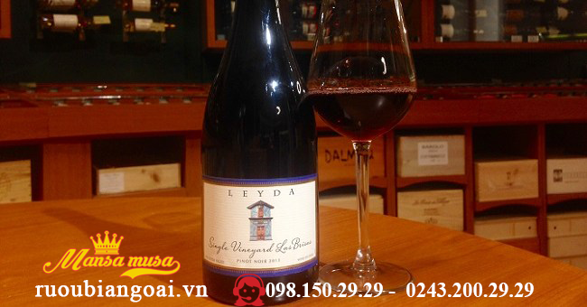Vang Leyda Single Vineyard Las Brisas Pinot Nior