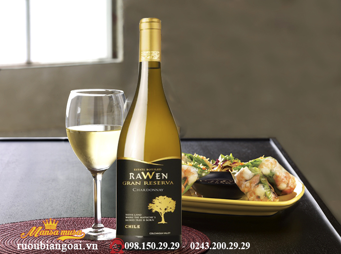 Vang RAWEN GRAN RESERVA Chardonnay