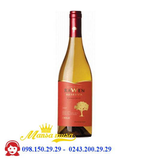 Vang RAWEN RESERVA Chardonnay