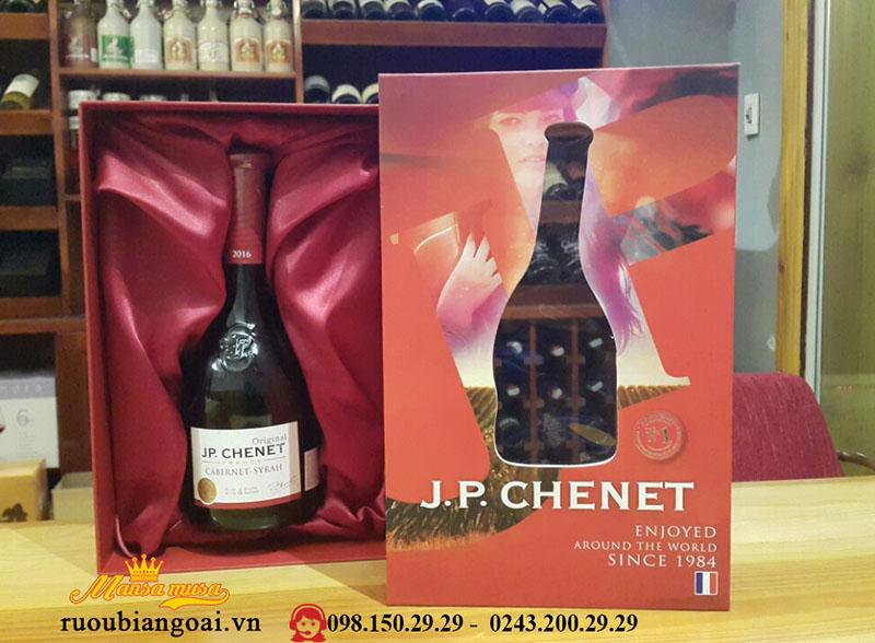Hộp quà tết Vang J.P Chenet Cabernet – Syrah