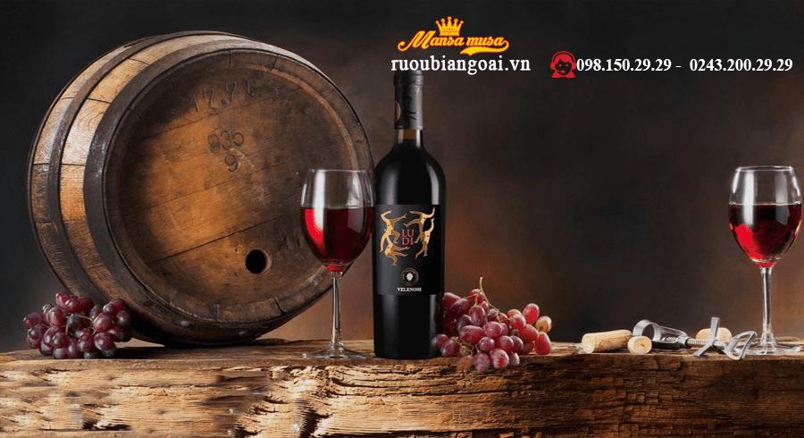 Rượu vang Ý Ludi Velenosi