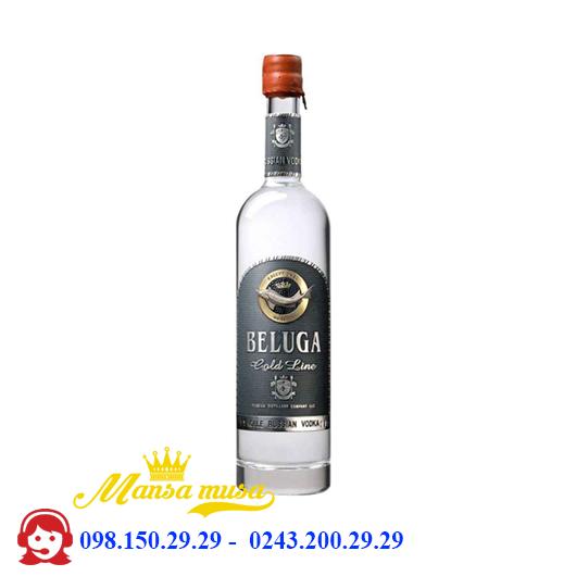 Rượu Vodka Nga Beluga Gold Line
