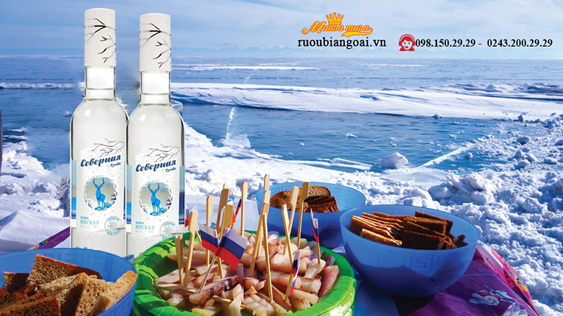 Rượu Vodka Nga Siberian Way