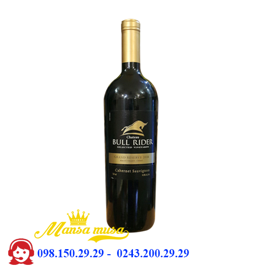 Vang Chile Chateau Bull Rider Gran Reserve 2016