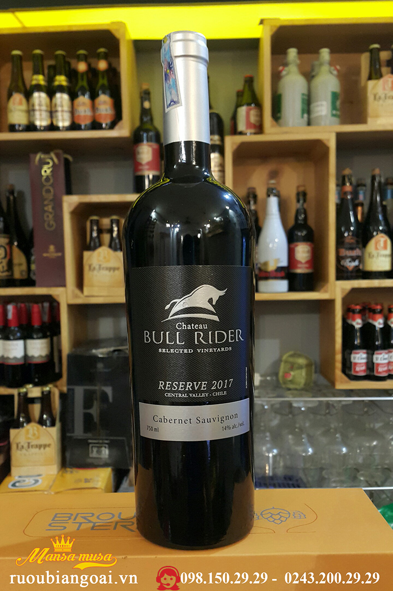 Vang Chile Chateau Bull Rider Reserve 2017