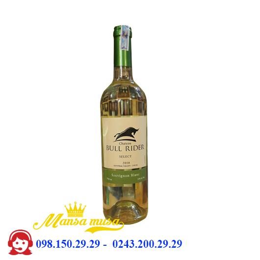 Vang Chile Chateau Bull Rider select Sauvignon blanc