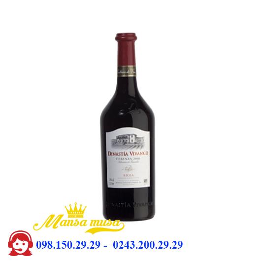 Rượu vang Tây Ban Nha Vivanco Crianza