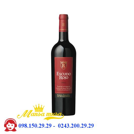 Rượu vang Chile Escudo Rojo