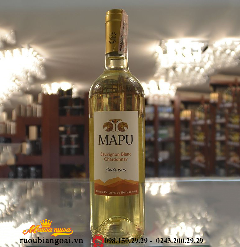 rượu vang chile mapu sauvignon blanc chardonnay