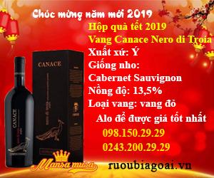 Baner hộp quà tết 2019