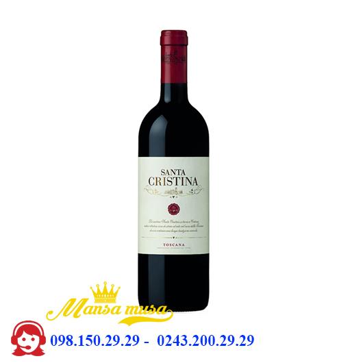 Rượu vang Ý Antinori Santa Cristina Toscana IGT