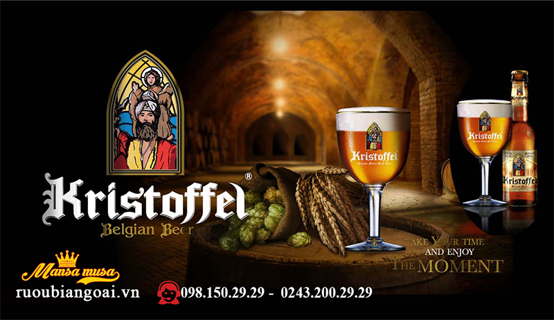 Bia Kristoffel Blond 6% - Chai 330ml