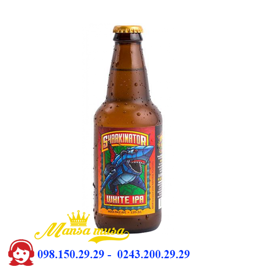 Bia Lost Coast Sharkinator White IPA 4,6% – Chai 355ml