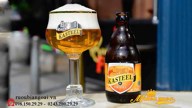Bia Bỉ Kasteel Triple