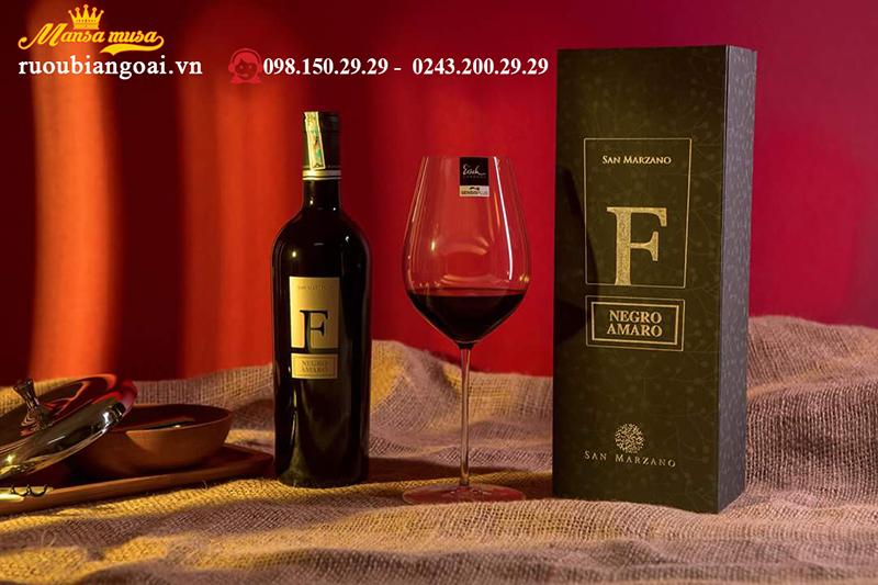 Rượu vang ý F Negroaaaro nhập khẩu