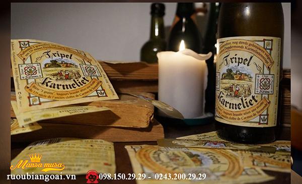 bia bỉ triple karmeliet