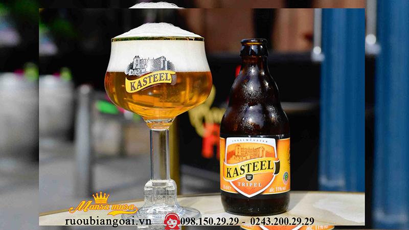 Bia Kasteel dòng Bia bỉ cao cấp
