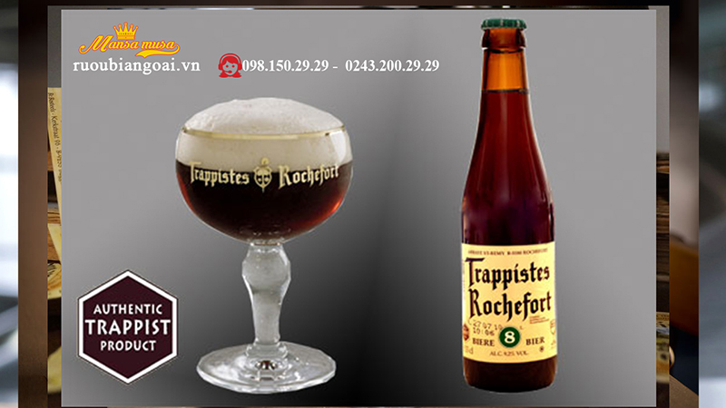 Bia Rochefort dòng Bia bỉ cao cấp