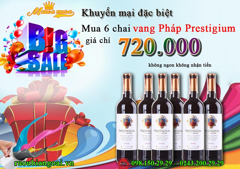 Nơi bán rượu vang pháp nhập khẩu uy tín nhất rẻ nhất