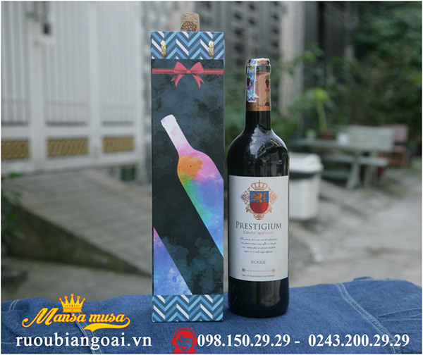 rượu vang pháp prestigium rouge