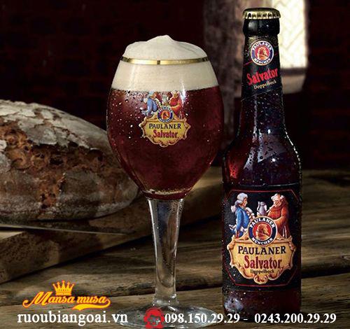 Bia Paulaner Salvator Double Bock 7,9% – Chai 330ml