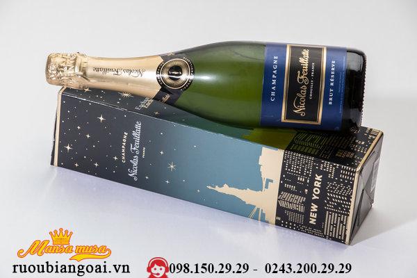 Rượu Sâm banh Nicolas Feuillatte Brut Réserve Particuliere